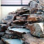 Водопад из природного камня в Самаре