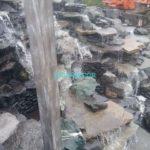 искусственный водопад - высота 7 м