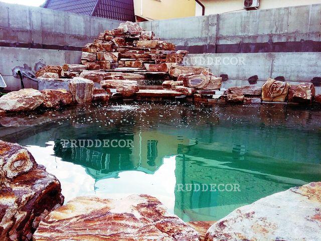 пруд с водопадом в Самаре (51)