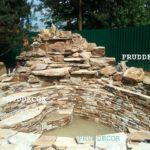 Строительство водопада с купелью в Самаре