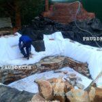 Строительство купели с водопадом в Самаре